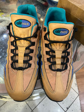 Load image into Gallery viewer, Praline Mega Blue Air Max 95s size 11