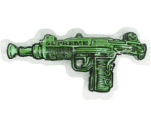 Brand new Lime Toy Uzi inflatable Pillow