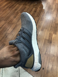 Grey Leather Cage 3.0 Ultra boost size 9.5