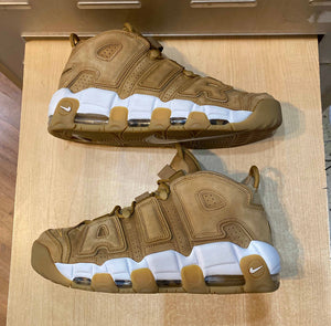 Air More Uptempo Wheat Size 11