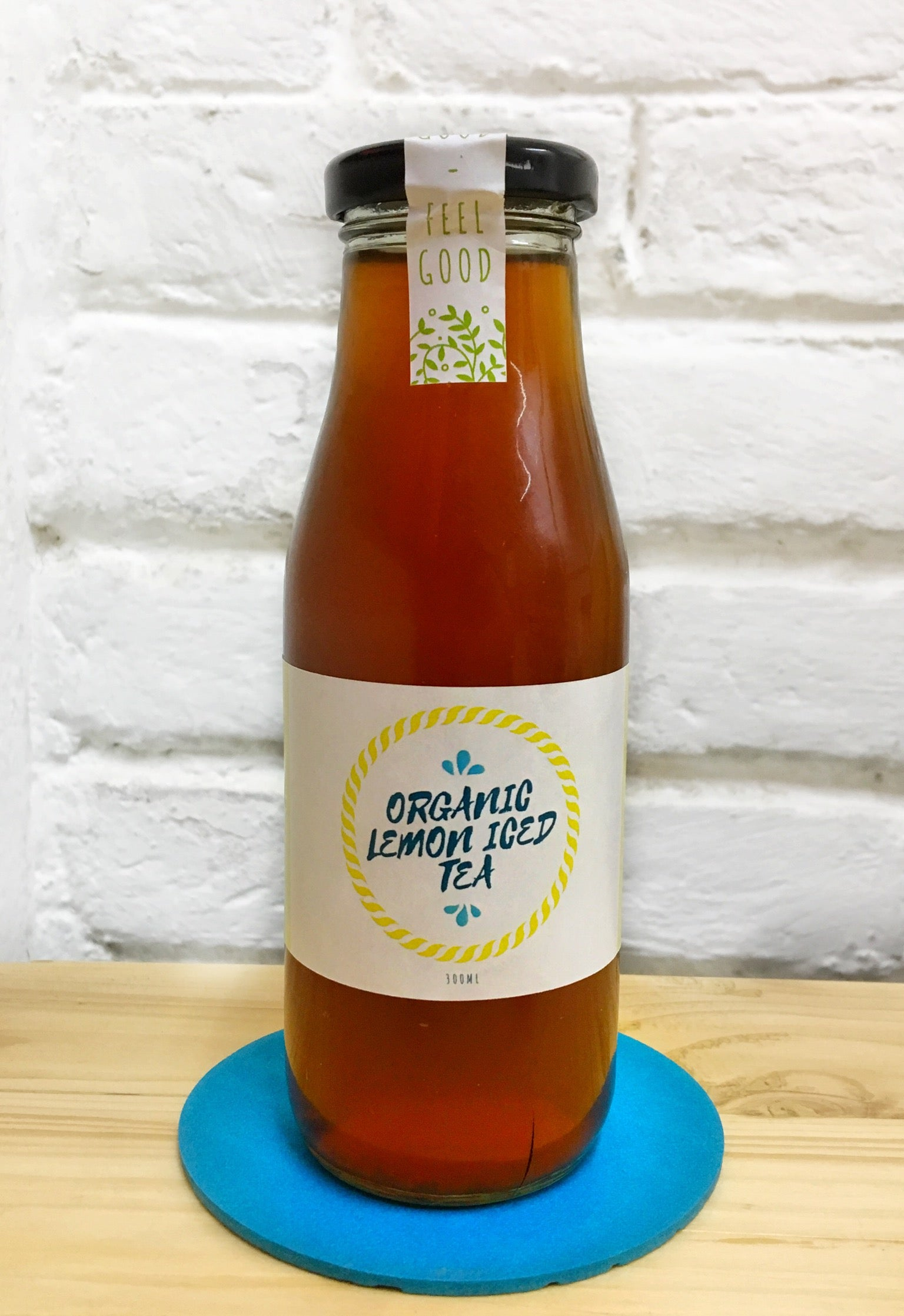 New! Organic Lemon Iced Tea