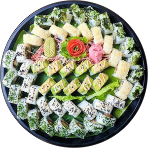SUSHI BOXES - A87 Midori Party Pack (50pcs)