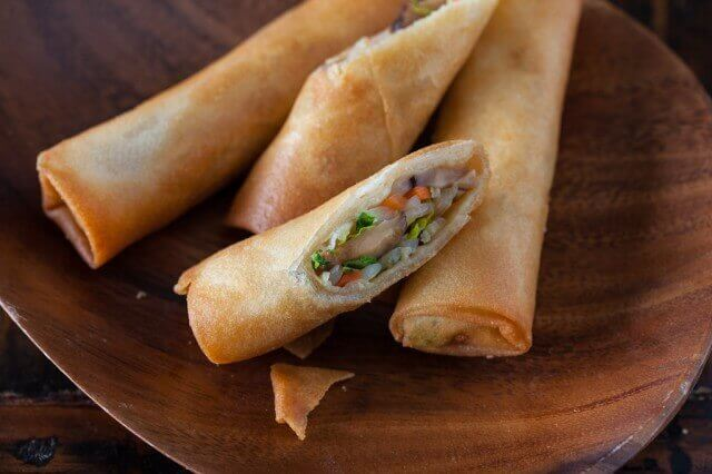 Asian Vegetable Spring Roll (3 Pcs)