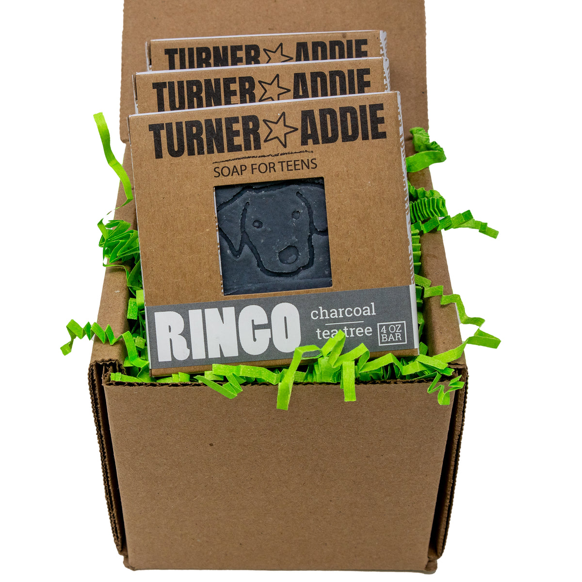 Soap Bundle (3 Bars) - RINGO, G.O.A.T., Army Men Bars – Handmade Natural Soap for Teens