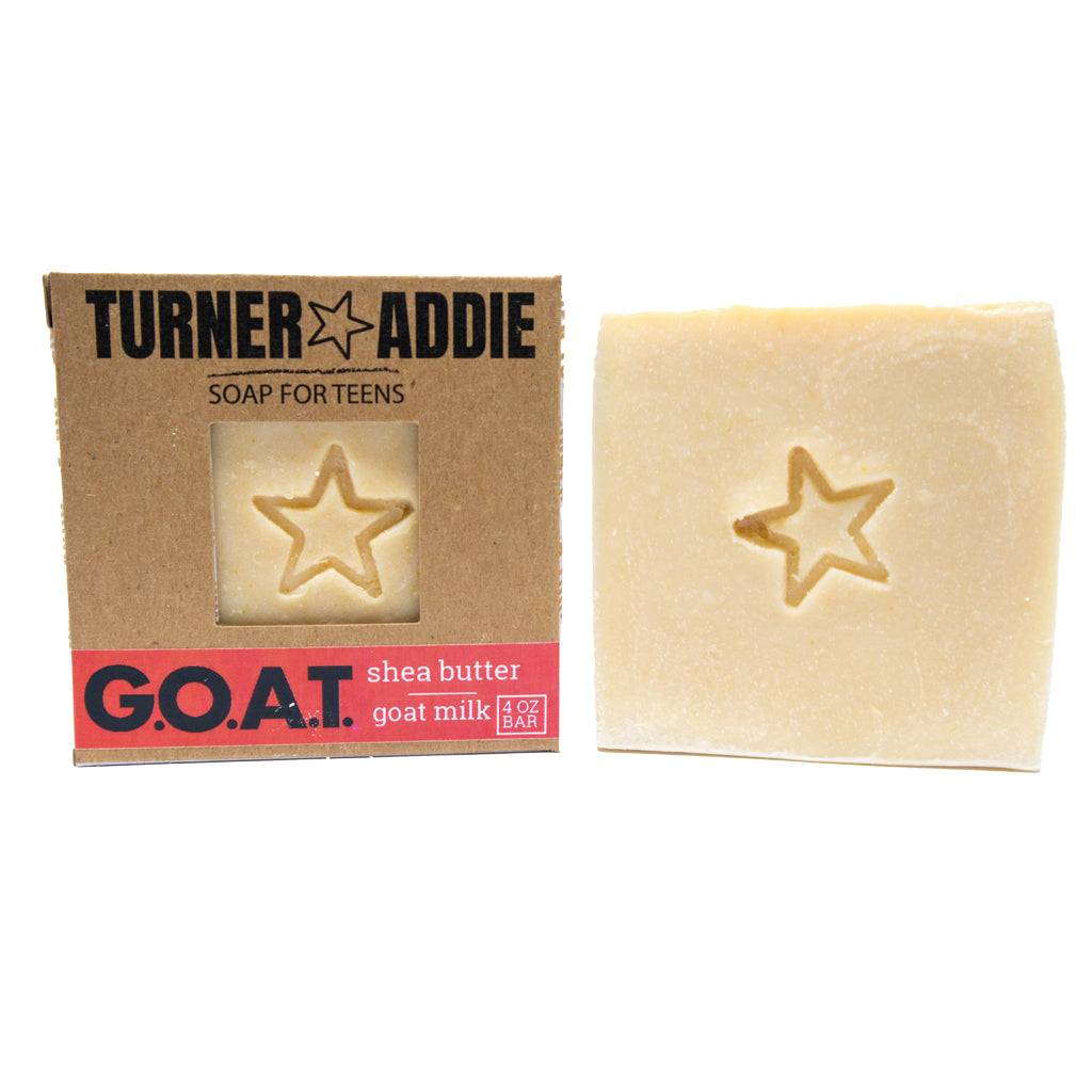 G.O.A.T. Soap Bar | Handmade Natural Soap for Teens