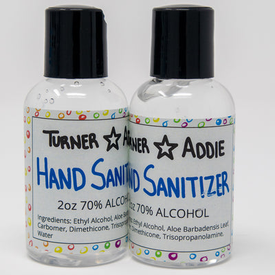 Hand Sanitizer UNSCENTED 2-Pack