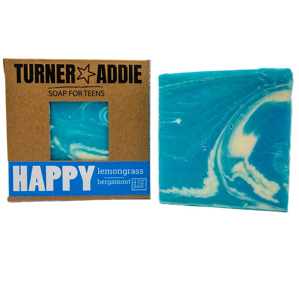 Happy Soap Bar | Handmade Natural Soap for Teens