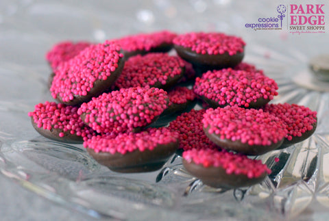 Chocolate for a Cure Pink Nonpareils