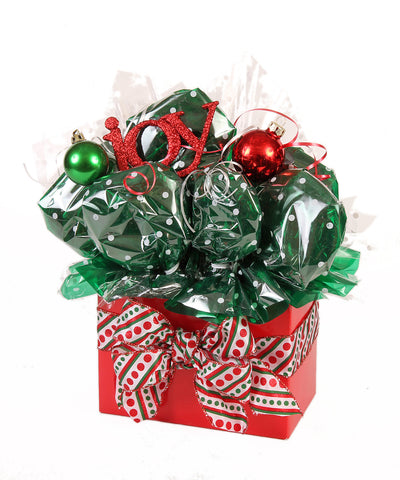 Christmas Joy Cookie Bouquet - 8, 10, 12 or 16 Cookies