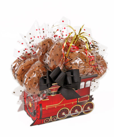 Train Box Cookie Bouquet - 8, 10, 12 or 16 Cookies