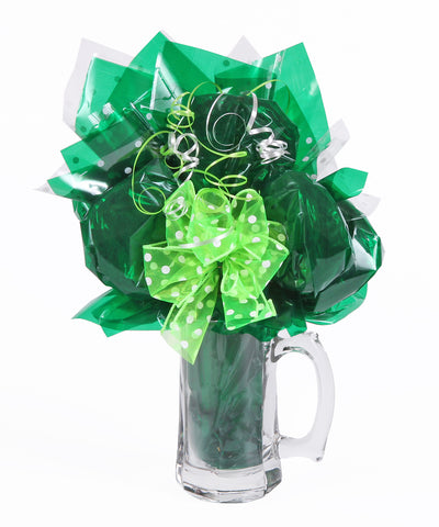 Beer Mug Cookie Bouquet - 7 Cookies