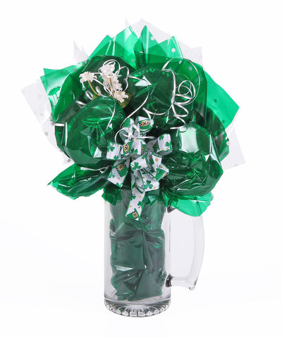 Irish Beer Stein Cookie Bouquet - 7 Cookies