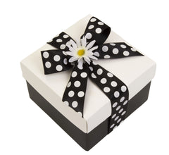 Assorted Cookie Box in Black and White - 15, 20, 25 or 30 Cookies