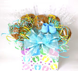 Baby Box Cookie Bouquet Gift - 8, 10, 12 or 16 Cookies