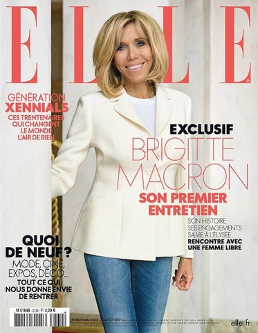 ELLE France Cover Severine bucket bag