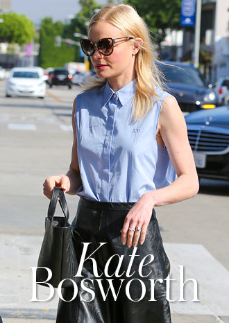 Kate Bosworth Rosalia Mini Black Woven