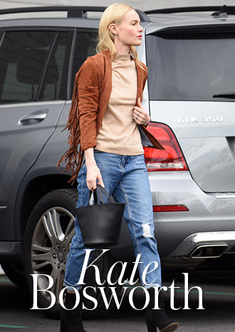 Kate Bosworth wears meli melo handbag