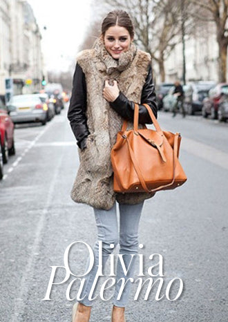 Olivia Palermo & Her Statement Meli Melo's Iconic Thela bag