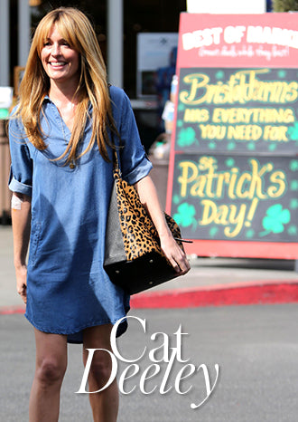 Cat Deeley walking