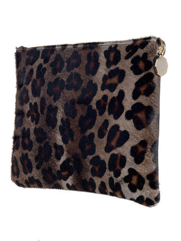 meli melo Evening Clutch Bag Cheetah Print