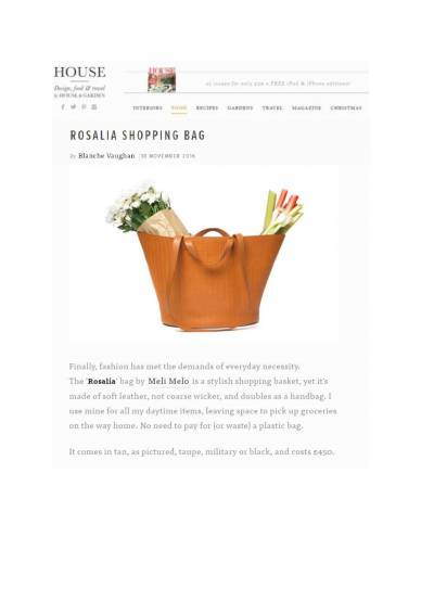 Rosalia shoping bag