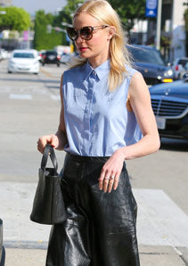 Kate Bosworth wears Rosalia Mini Handbag from meli melo