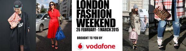 win two silver tickets for London Fashion Weekend here