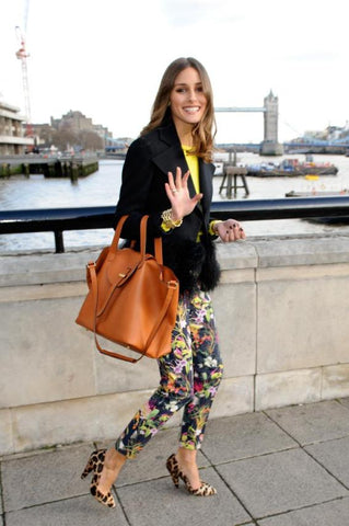 OIlivia Palermo with Thela Bag