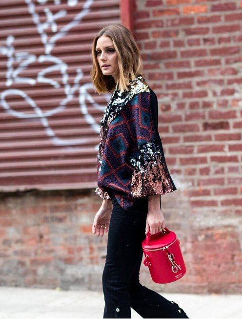 The sell out Severine Olivia Palermo x meli melo collaboration is back