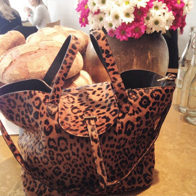Thela Cheetah Tote Bag