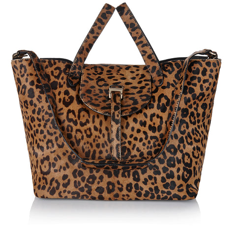 meli melo Luxury Thela Bag Cheetah animal Print