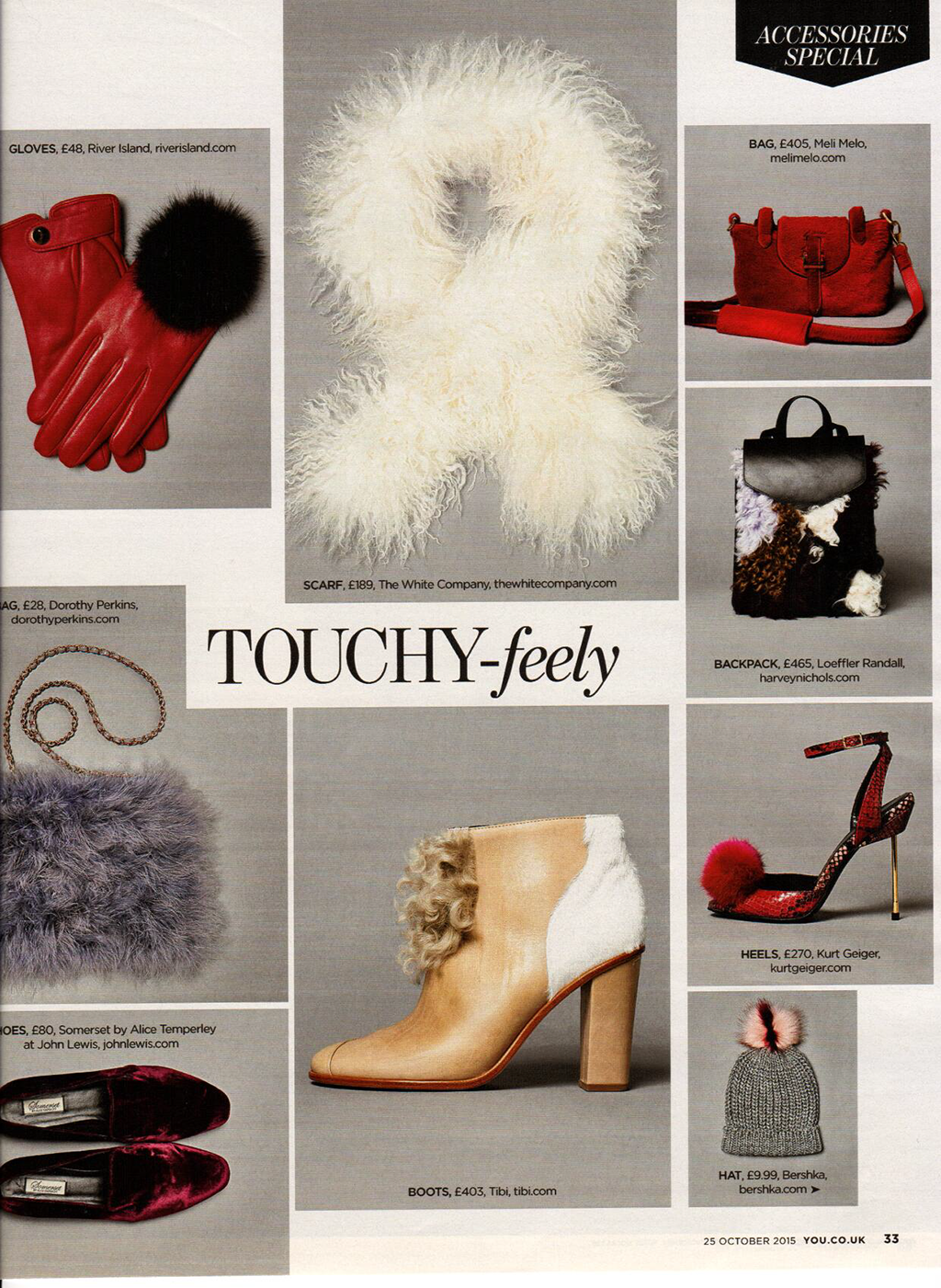 Thela Mini Red featured in YOU Mag