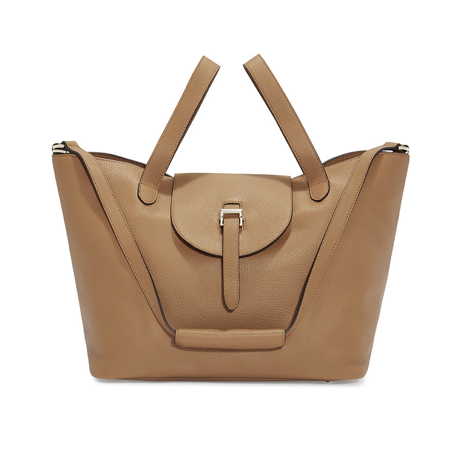 0ba29d58763d Thela Tan Tote Bag - Italian Luxury Handbag – meli melo Official