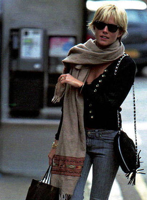 Sienna Miller and her favourite bag