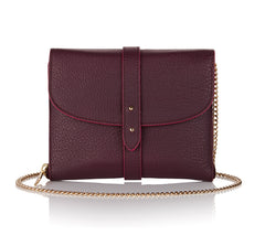Wallet Grape & Taupe