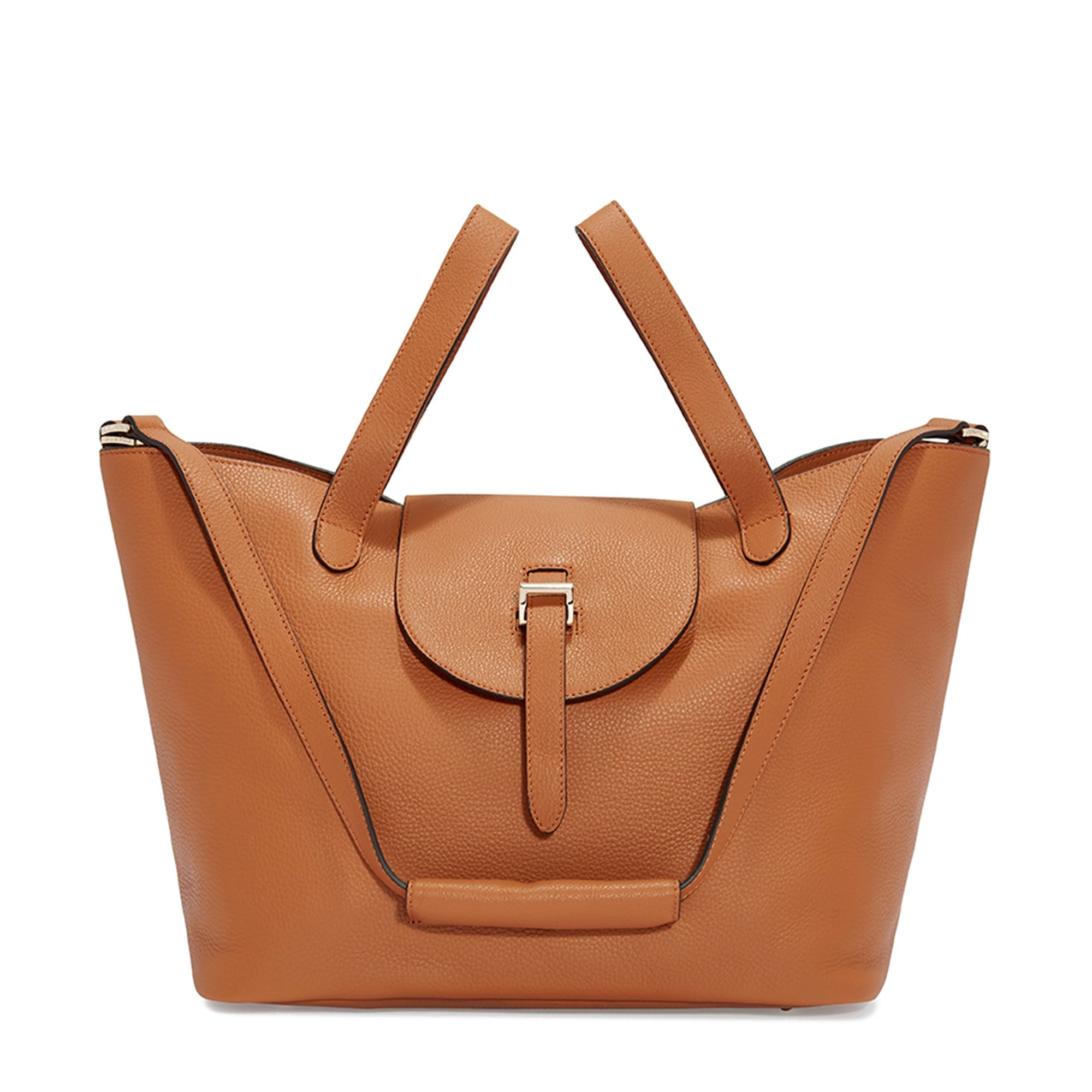 f000860ff56e Thela Tan Tote Bag - Italian Luxury Handbag – meli melo Official