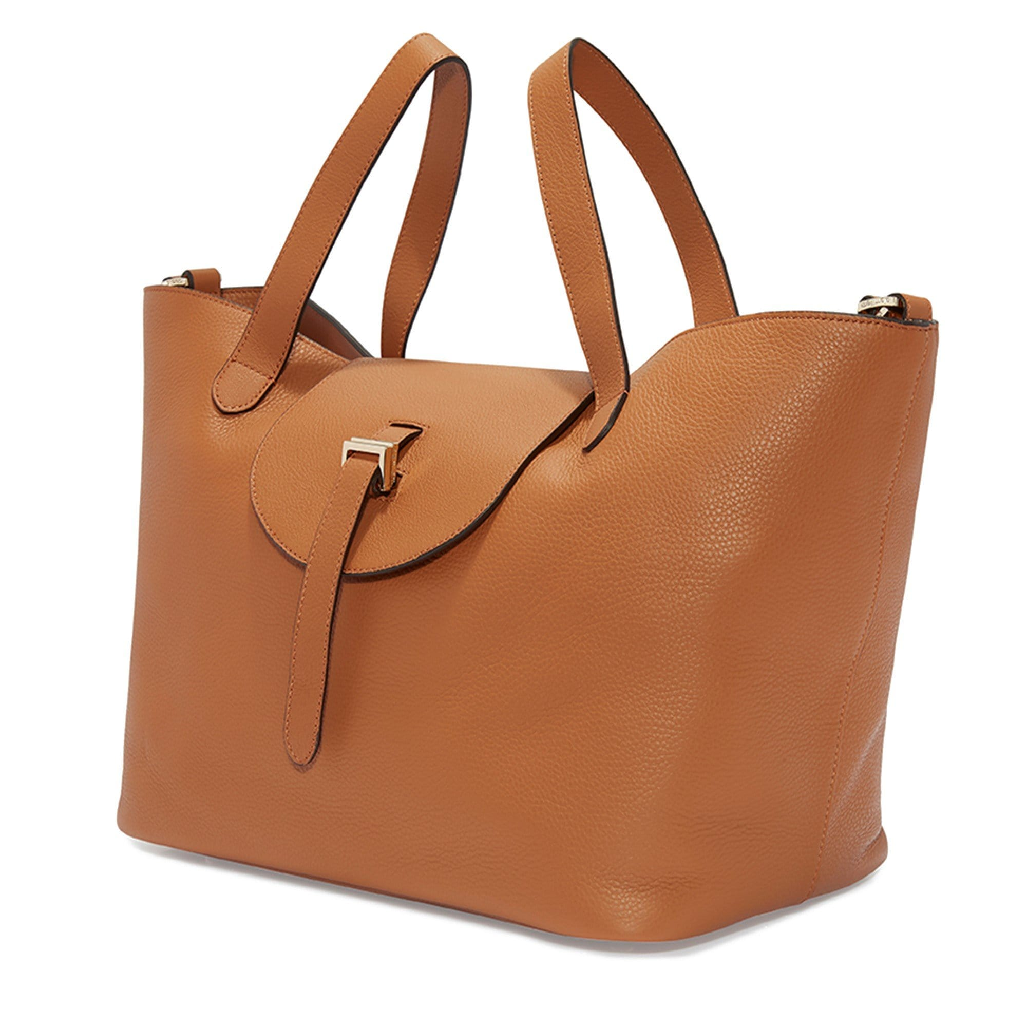 b85b13c37dde Thela Tan Tote Bag - Italian Luxury Handbag – meli melo Official