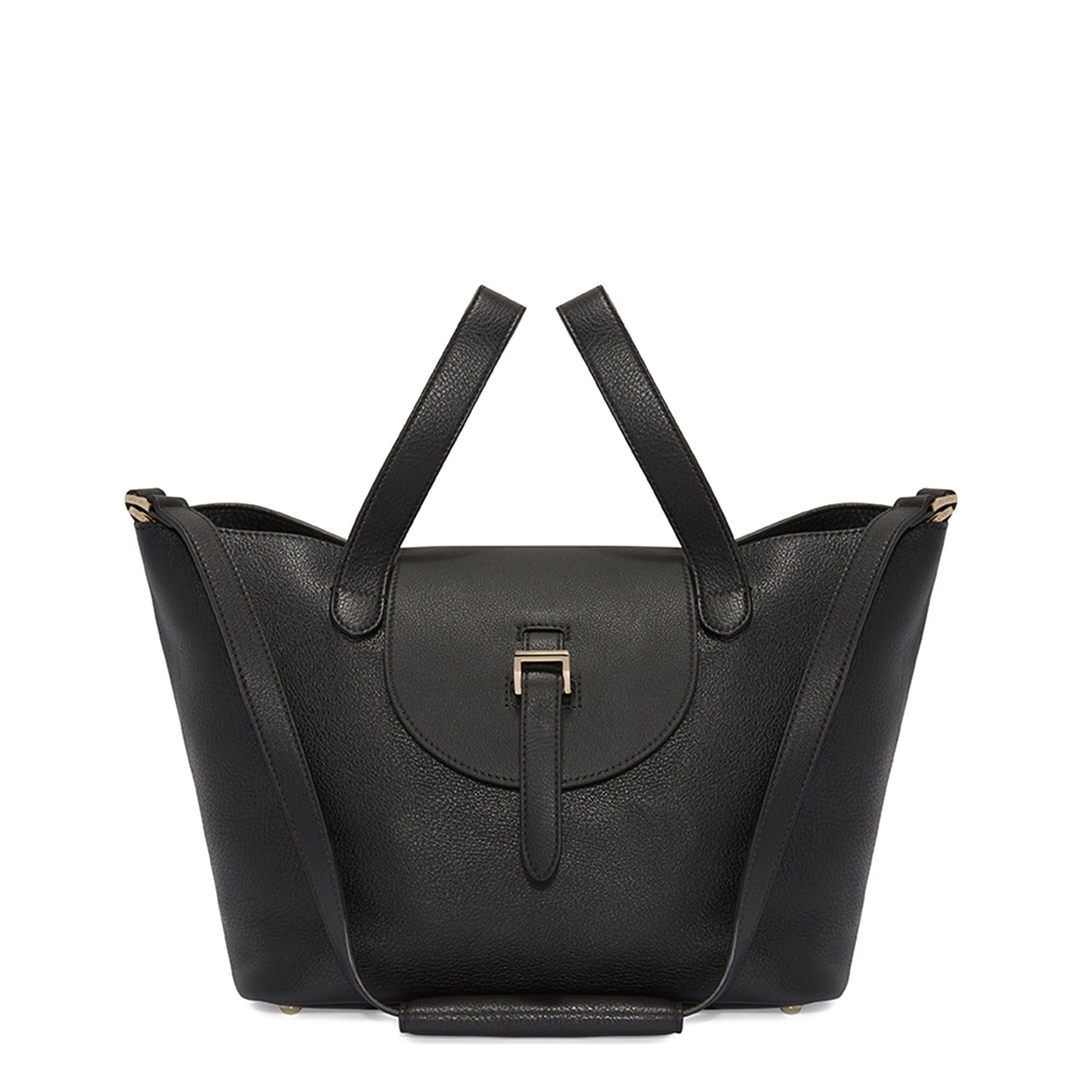 Thela Medium | Tote Bag | Zipper Black