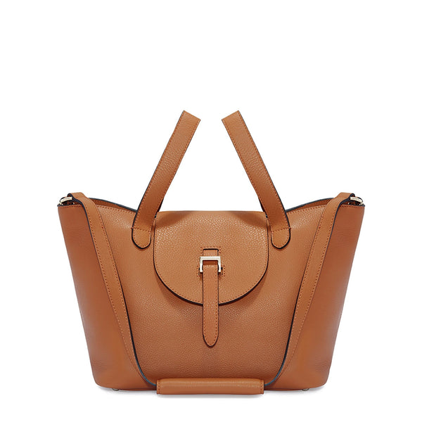 Thela Medium | Tote Bag | Zipper Tan