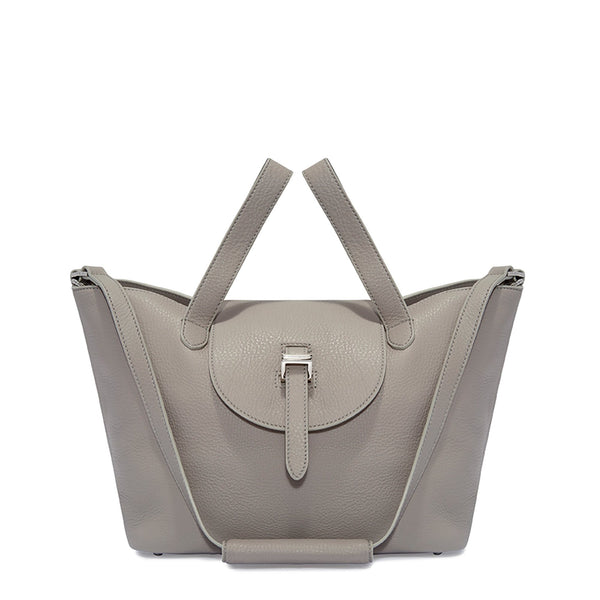 Thela Medium | Tote Bag | Zipper Taupe