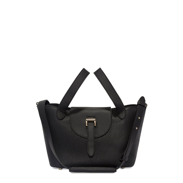 Thela Mini | Cross Body Bag | Zipper Black