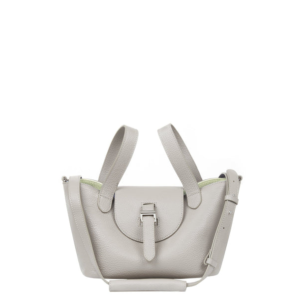 Thela Mini | Cross Body Bag | Taupe and Apple