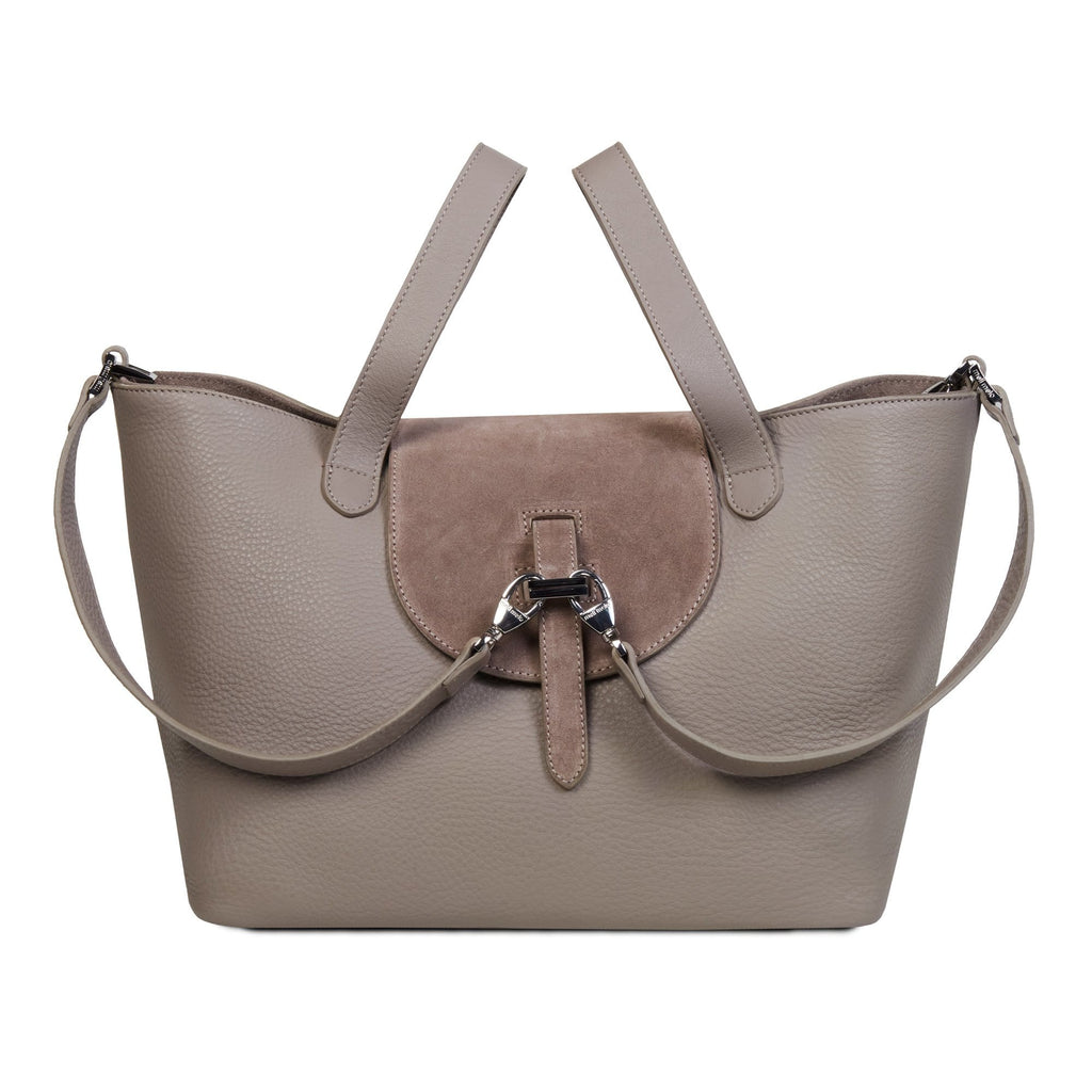 Thela Medium Classic Taupe & Almond Suede - meli melo Official