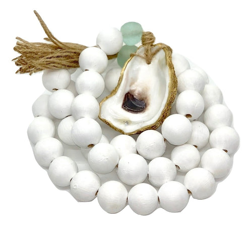The Gilded Shell - Coastline - The Long Beach - 18k Gold Gilded Oyster Shell-Product - 1