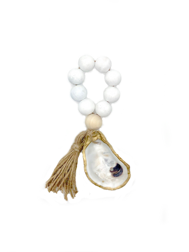 The Gilded Shell - The Boho - The Splash - 18k Gold Gilded Oyster Shell - Lifestyle Photo - 1