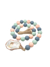 Load image into Gallery viewer, The Gilded Shell Palm Beach Pink Multi Coastline Style Hospitality Beads