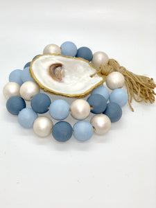 The Gilded Shell - Nantucket - Coastline - 18k Gold Gilded Oyster Shell - Product -2