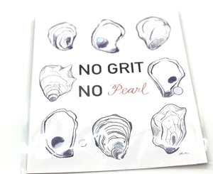 The Gilded Shell - No Grit No Pearl Print - Product Photo - 1