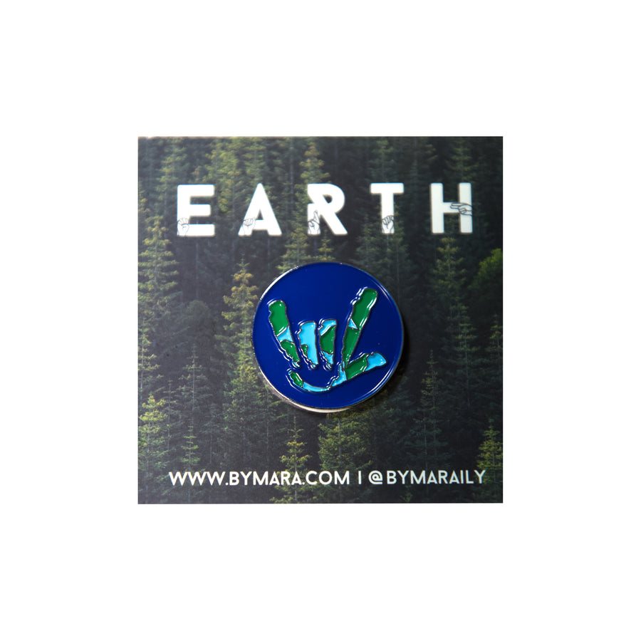 Mother Earth I.L.Y. Pin