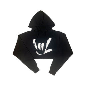 WOMEN'S I.L.Y. CROP HOODED
